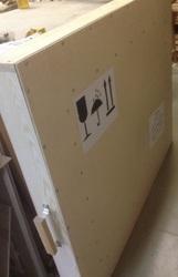 Коробка для картины для пересылки почтой FedEx,  DHL. Изготовление